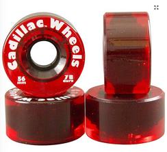 Cadillac Original Wheels Red 56mm 78a