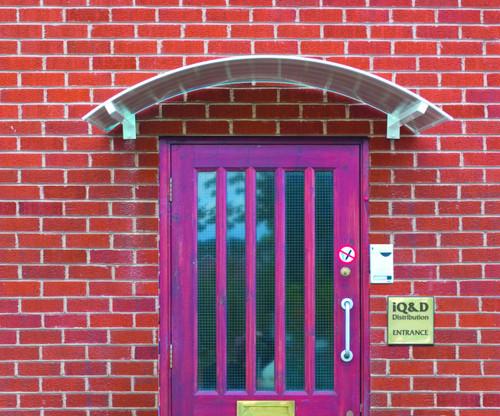 viscount door canopies