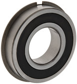 Nachi 6206 Radial Ball Bearing, Double Sealed, Snap Ring, 30mm Bore, 62mm Outside