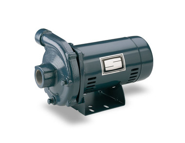 """Sta-Rite JBME Medium Head Centrifugal Pump, 1 HP, 67 GPM, 115V/230V, 1 Phase, Silicon Bronze Impeller, 1-1/2"""" Suction, 1-1/4"""" Discharge"""