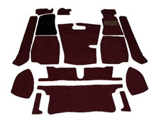 Carpet Set Black MGB 68 to 80, CKDMGB