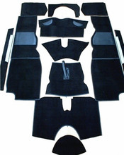 Carpet Set Black TR4A-TR6, CSA6411