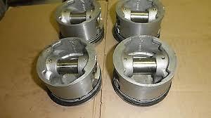 Piston Set AE MGB 72-80 Press Fit