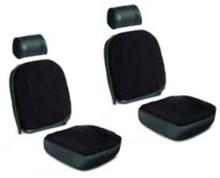Seat Kit Black MGB 73-76,ASC115A