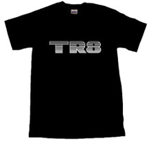 TR8 Decal T-Shirt Black