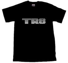 TR8 Decal T-Shirt Black