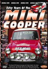 Fifty Years of The Mini Cooper - Triumph DVD - Front Cover