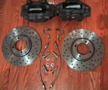 Big Brake Kit - Triumph TR4 / TR250 / TR6, WSCCPBB2