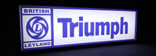 Triumph British Leyland Sign