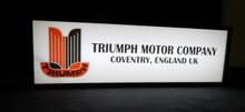 Triumph Motor Company Sign