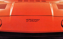 1975-1977 Triumph TR7 OEM Front Hood Bonnet Badge Decal