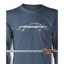 Aston Martin DB5 Coupe James Bond 007 Long Sleeves T-Shirt