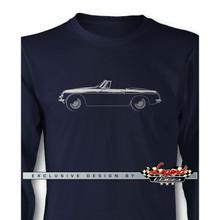 MG MGB Convertible Long Sleeves T-Shirt