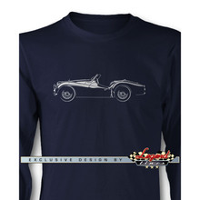 Triumph TR2 / TR3 Convertible Long Sleeves T-Shirt