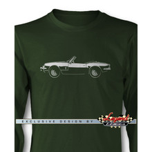 Triumph Spitfire Convertible Long Sleeves T-Shirt