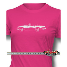 Aston Martin DB5 Convertible Women T-Shirt