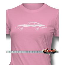 Aston Martin DB5 Coupe James Bond 007 Women T-Shirt