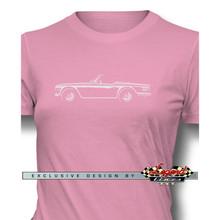 Triumph TR6 Convertible Women T-Shirt