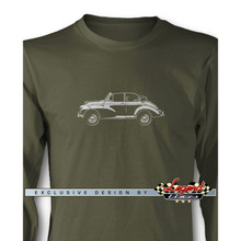 Morris Minor Tourer Convertible Long Sleeves T-Shirt