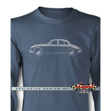 Jaguar MKII Sedan Long Sleeves T-Shirt