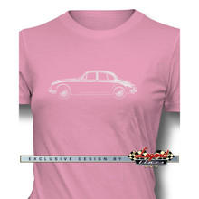 Jaguar MKII Sedan Women T-Shirt