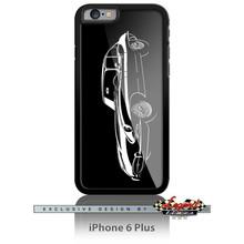 Jaguar E-Type XKE Coupe Smartphone Case - Spotlights