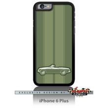 MG MGB Convertible Smartphone Case - Racing Stripes