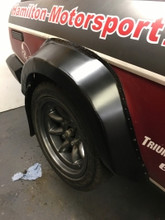 TR7/TR8 Alloy Rear Wheel Arch Extensions (PAIR)