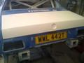 Fiberglass Boot Lid TR7, TR8