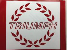 1980 Triumph TR7 SPIDER Complete 5 Piece Badge Decal Set