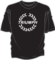 Triumph Laurel Decal T-Shirt