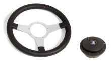Moto-Lita Triumph TR7 / TR8 Center Steering Wheel & Hub - PKC1295BLACK