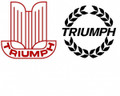 Triumph Vinyl Decal - Laurel or Shield
