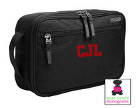 OUR DELUXE MEN'S MONOGRAMMED TRAVEL KIT
