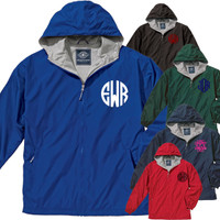 FULL ZIP WINDJACKET WITH YOUR MONOGRAM