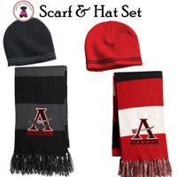 ALLATOONA SOCCER - Acrylic Knit Scarf & Hat Set