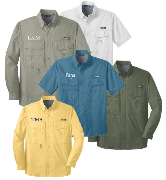 short or long sleeve fishing shirt