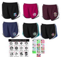 Lilly Inspired Exclusive Personalized  Athletic  Shorts  - FREE SHIP