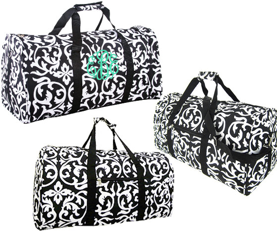 TRAVEL SET IN DAMASK