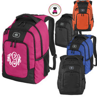 Monogrammed OGIO Large LOGAN Backpack - FREE SHIP