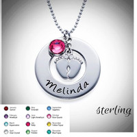NEW MOMMY Necklace - Sterling  - FREE SHIP