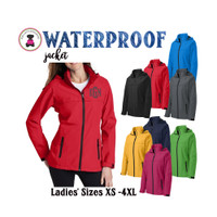 Monogrammed Wind & Waterproof Ladies' RAIN JACKET  - 1 or 2 Monograms - FREE SHIP