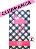Monogrammed MISS FLAMINGO Deluxe Beach Towel-FREE SHIP/Beach Towel / Microfiber Towel / Pool Towel / Bride Gift / Grad Gift / Gift for Her