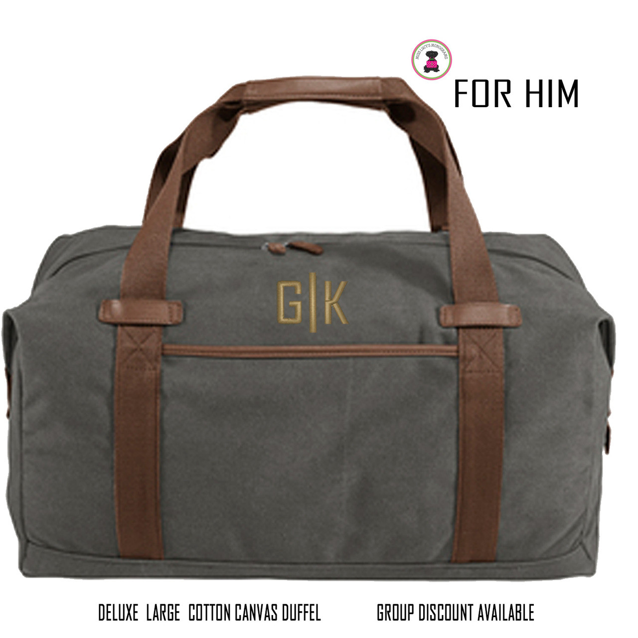 7aa45466cae9 ... Travel Mens Duffel Groomsmen Gift Father s Day Gift Grad Gift. Image 1