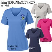 SP ELEM - Ladies' Performance V Neck Tee