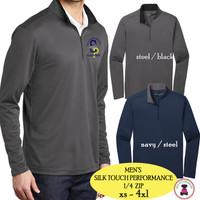 SP ELEM - Men's  Silk Touch Quarter Zip Pullover