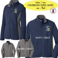 SP ELEM - Ladies'/Men Colorblock Fleece Jacket