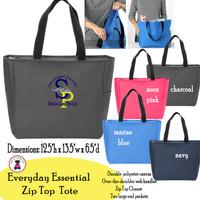 SP ELEM - Everyday Essential Zip Top Tote
