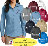 SP ELEM - ADMIN-  LADIES' Carefree Shirt