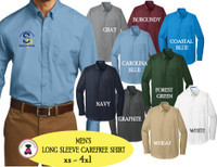 SP ELEM - ADMIN-  MEN'S Carefree Shirt